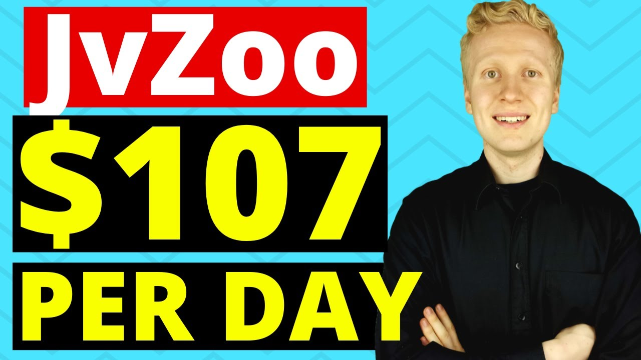 JvZoo Affiliate Marketing Tutorial: EARN $107 PER DAY! (Make Money on JvZoo with 4 Steps!)