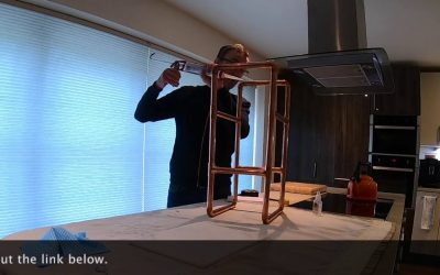 Do It Yourself – Tutorials – Make Your Own Copper Pipe and Marble Side Table
