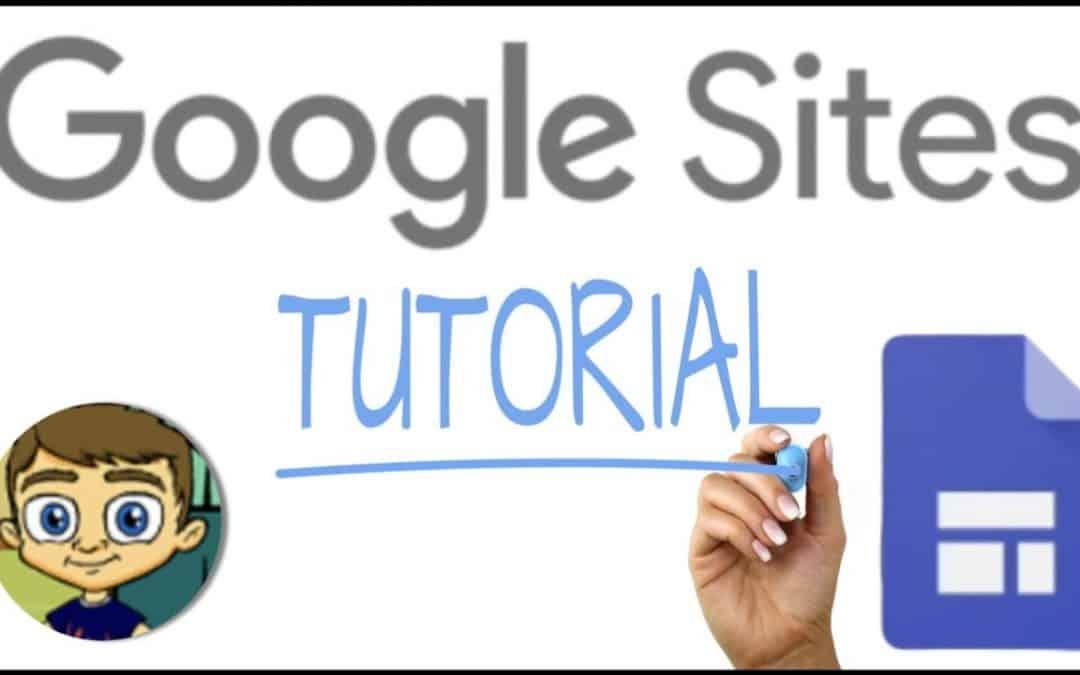 The NEW Google Sites - Full Tutorial