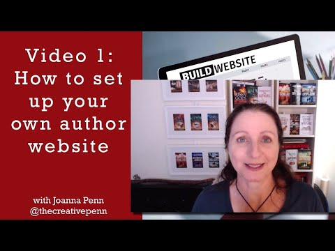 Tutorial: How To Build Your Own Author Website In Under 30 Minutes