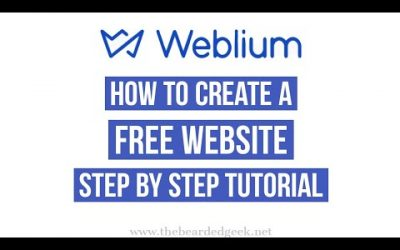 Do It Yourself – Tutorials – Weblium | How to create a free website step by step tutorial