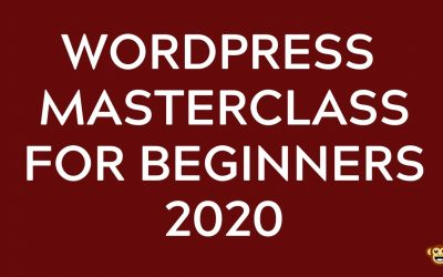 Do It Yourself – Tutorials – WordPress for Beginners Master Class 2020 – How to build your First WordPress Website