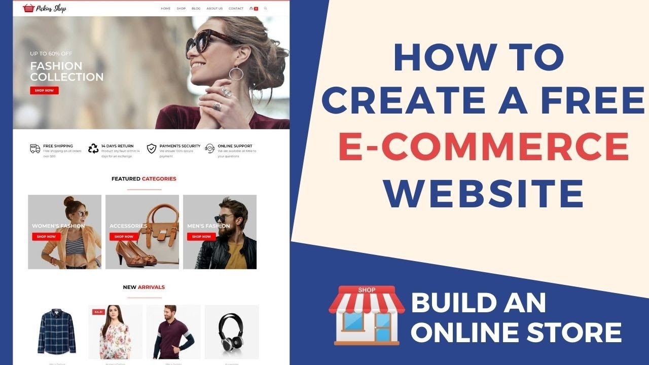 How to Create a Free E-commerce Website with WordPress 2020 - Build an Online Store