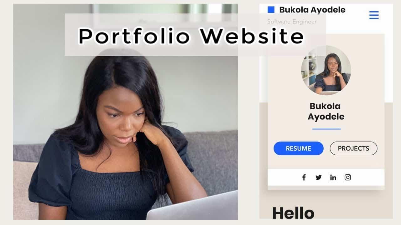 How To Make A Portfolio Website (for Software Developers)