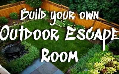 Do It Yourself – Tutorials – DIY *OUTDOOR* Escape Room || Step-By-Step Tutorial to Make Your Own Escape Room Outside