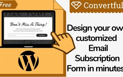 Do It Yourself – Tutorials – Design your own Email Subscription Form in WordPress | A-Z Blogging Series | Step by step Guide 2020