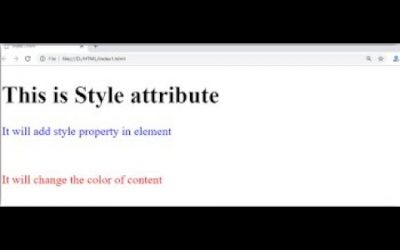Do It Yourself – Tutorials – HTML Styles|| HOW TO MAKE YOUR OWN WEBSITE || |CLASS#6|URDU & HINDI LANGUAGE TUTORIAL W3SCHOOL