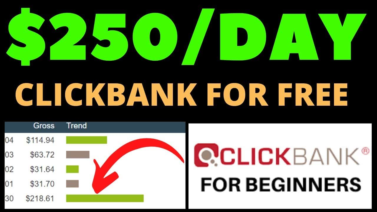 How To Make $250 Fast On Clickbank Without A Website (Step-By-Step Tutorial)