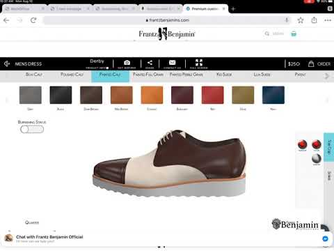 How to design your shoes - step-by-step online 2020