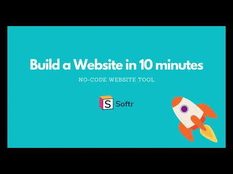 Make a Website Without Coding in 10 minutes   Softr.io   No-Code Tutorial