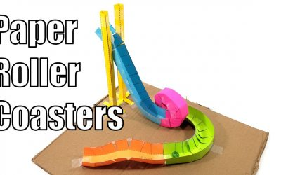 Do It Yourself – Tutorials – Paper Roller Coasters – Fun STEM Activity!
