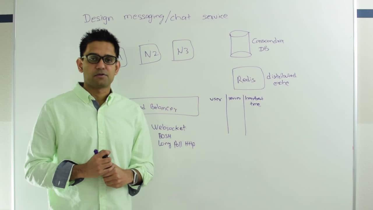 System Design : Design messaging/chat service like Facebook Messenger or Whatsapp