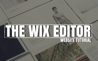 Do It Yourself – Tutorials – THE WIX EDITOR | WIX WEBSITE DESIGN TUTORIAL 2018