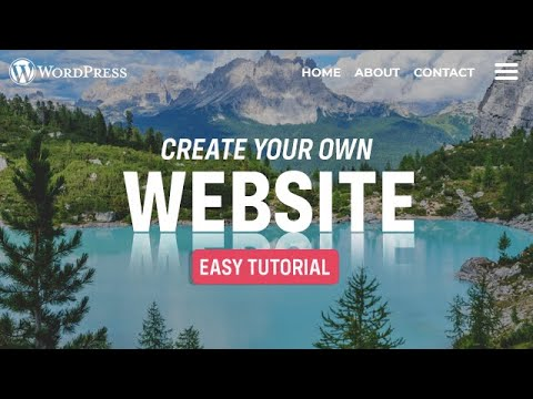 How to Make a Website in 90 Minutes 2021 - a Simple, Fast, & Easy Website Tutorial for Beginners