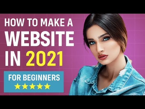 How to Make a Website for Beginners 2021 (EASY!)