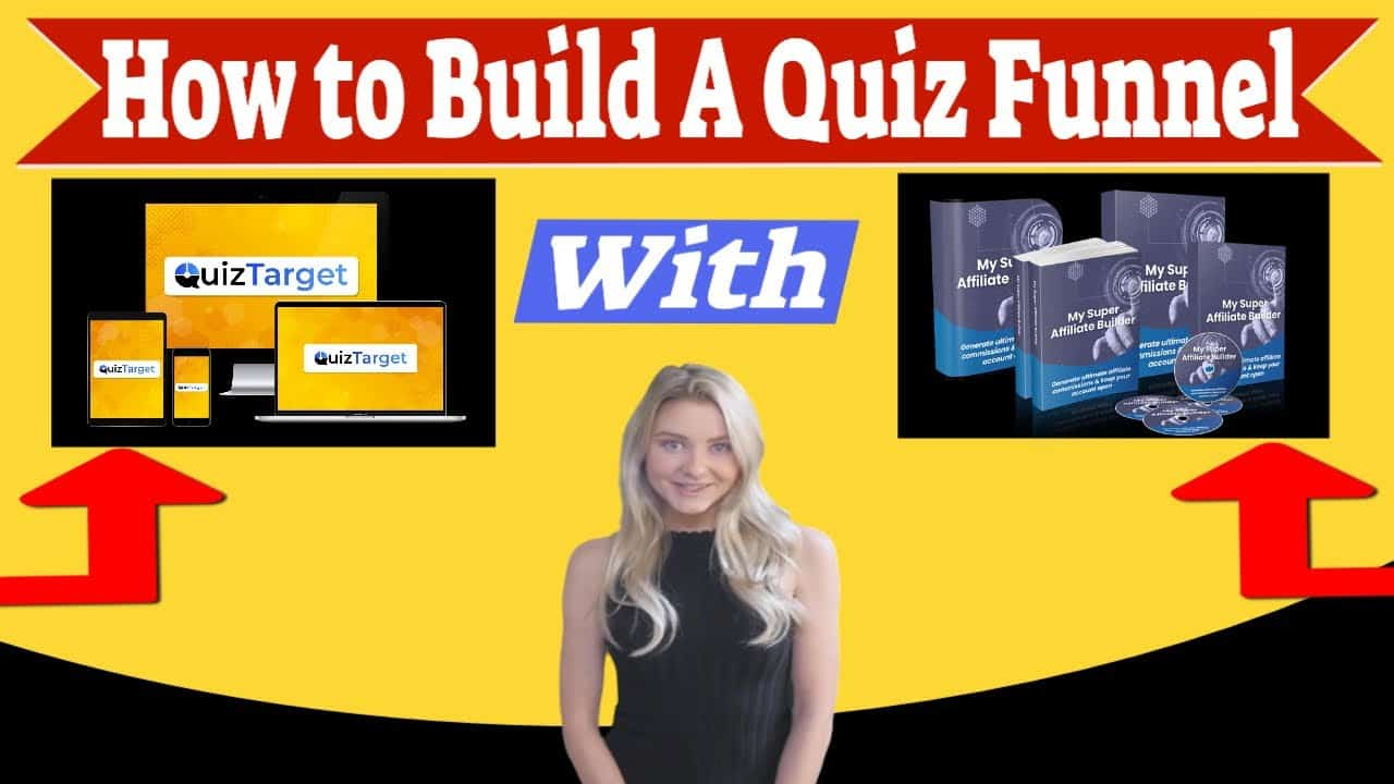 How to Build a Quiz Funnel With QuizTarget and My Super Affiliate Builder In This Review and Demo!
