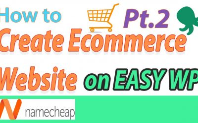 Do It Yourself – Tutorials – [2020] Namecheap EasyWP – How to build a Ecommerce website video tutorial for beginners – Part 2