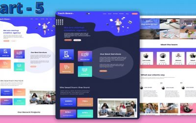 Do It Yourself – Tutorials – How To  Make A Complete Website Using HTML And CSS Step By Step Tutorial | Part 5