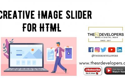 Creative Image Slider #thesrdevelopers #webdesign #webdevelopement #HTML #Slider #image #css