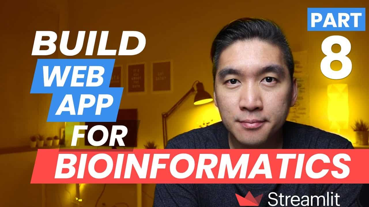 How to Build a Simple Bioinformatics Web App in Python (Streamlit Tutorial Part 8)