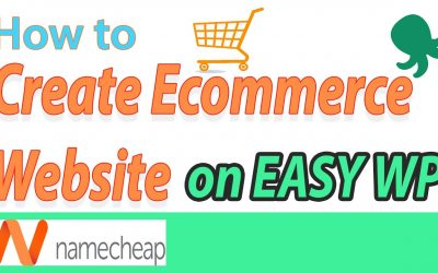 Do It Yourself – Tutorials – [2020] Namecheap EasyWP – How to build a Ecommerce website video tutorial for beginners