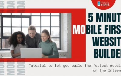 Do It Yourself – Tutorials – 5 Minute mobile first website builder Tutorial to let you build the fastest website on the Internet