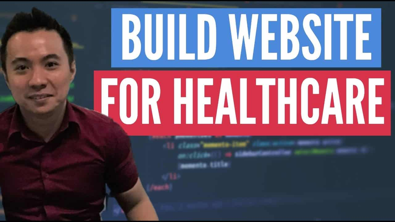 BUILD WEBSITE USING HTML CSS IN HEALTHCARE TUTORIAL