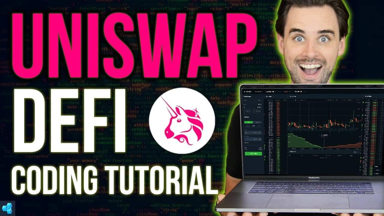 Build a DeFi App with UNISWAP! Blockchain Coding Tutorial