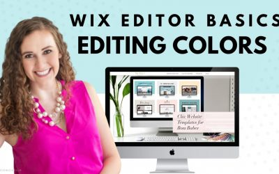 Do It Yourself – Tutorials – Changing Colors on Your Site in WIX | Wix Website Editor | How to Create Your Own Website