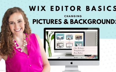 Do It Yourself – Tutorials – Changing Pictures & Backgrounds in WIX | WIX Website Editor | How to Create Your Own Website