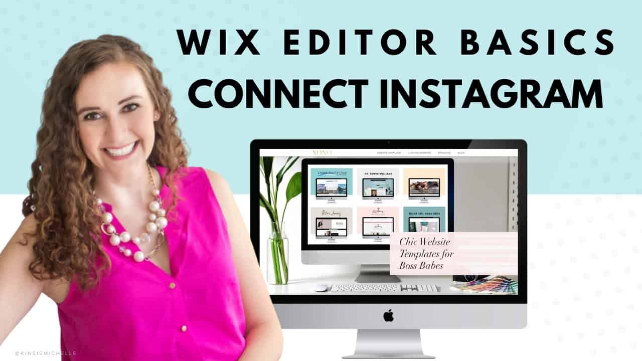 Connect Your Instagram Feed in WIX | WIX Website Tutorial | Design Your Own Website