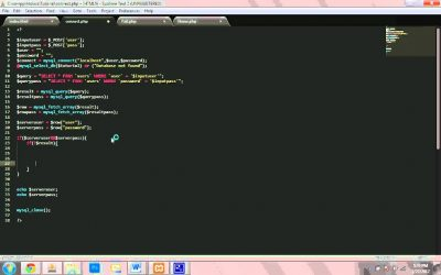 Do It Yourself – Tutorials – Connecting to MySql Database – Creating your own Website in PHP and HTML