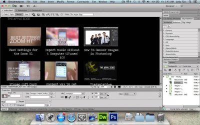 Do It Yourself – Tutorials – Create A Website Using Photoshop & Dreamweaver – Part 2