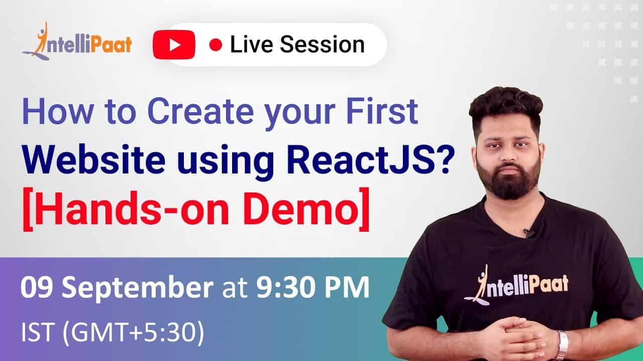 Create Simple Website with React | ReactJS Tutorials for Beginners | Website Creation Tutorial