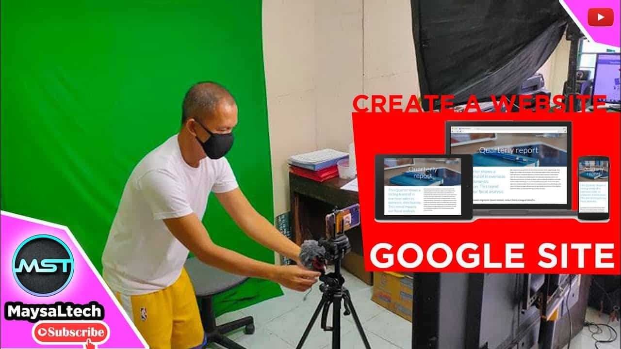 Create your own Website for free | Google Sites Tutorial