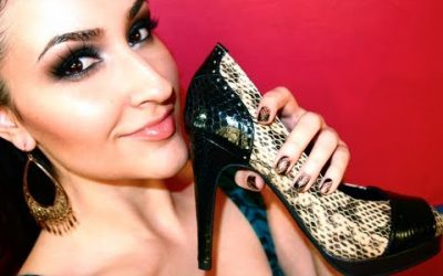 Do It Yourself – Tutorials – Design Your Own Shoes For The Holidays!