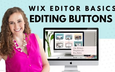 Do It Yourself – Tutorials – Editing Buttons in Wix Editor | Wix Website Editing Tutorial | Design Your Own Website