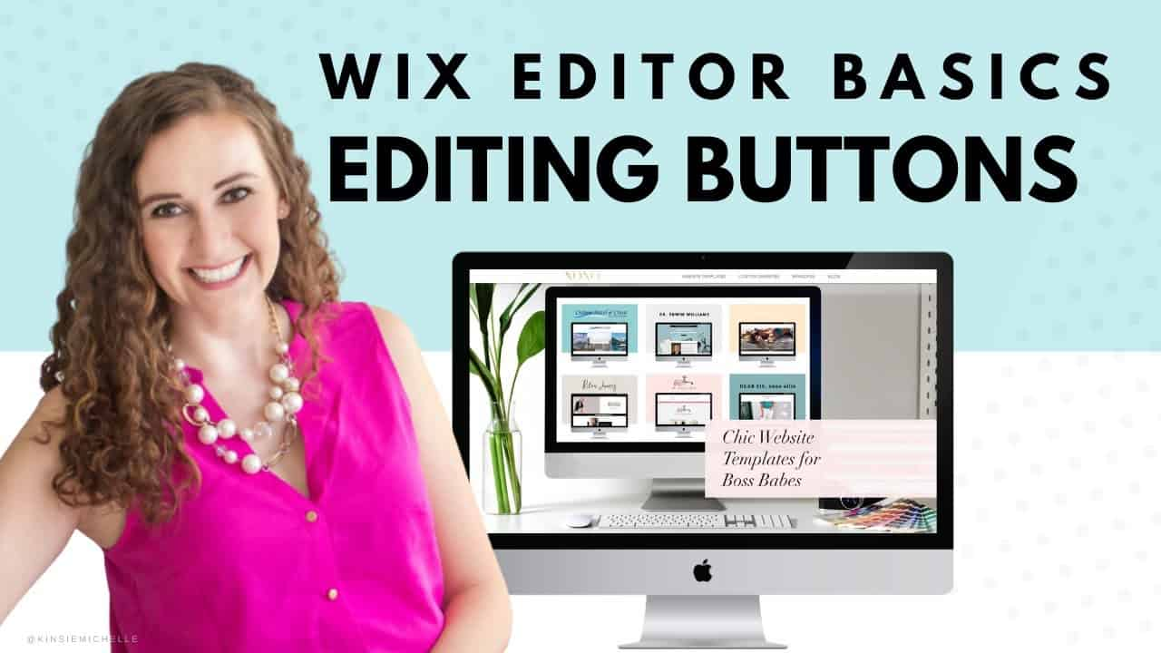 Editing Buttons in Wix Editor | Wix Website Editing Tutorial | Design Your Own Website