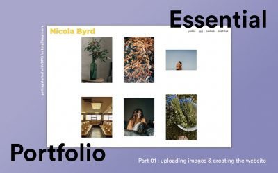Do It Yourself – Tutorials – Essential Portfolio Tutorial Part 1 – Building a photography portfolio website with DPG