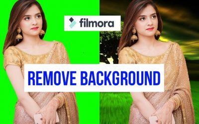 Do It Yourself – Tutorials – Green Screen Remove in Wondershare Filmora 9 || How to remove Croma in Filmora 9