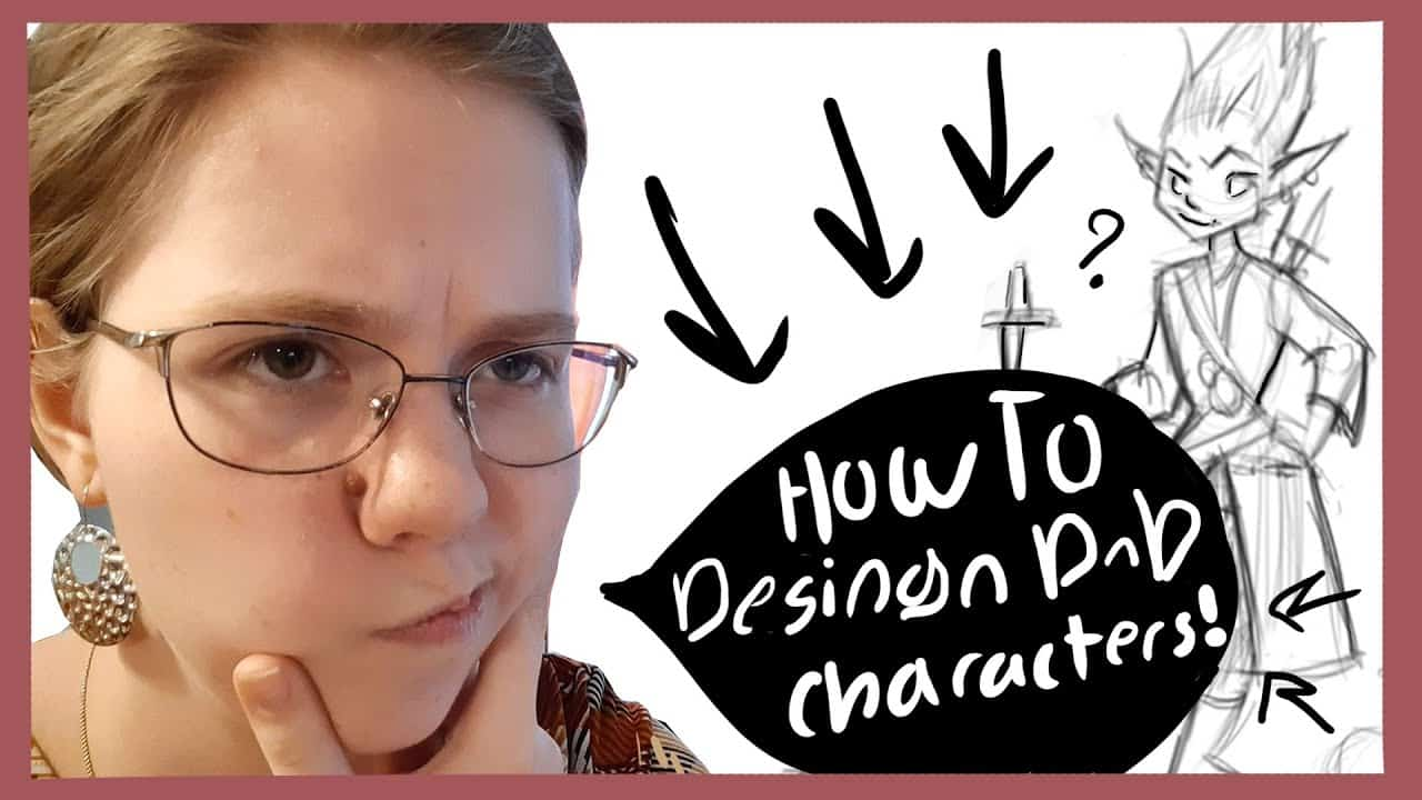 How To Draw And Create Your Own DnD Character! | Character Design Tutorial