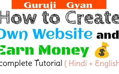 Do It Yourself – Tutorials – How to Create Own Website and Earn Money with Website