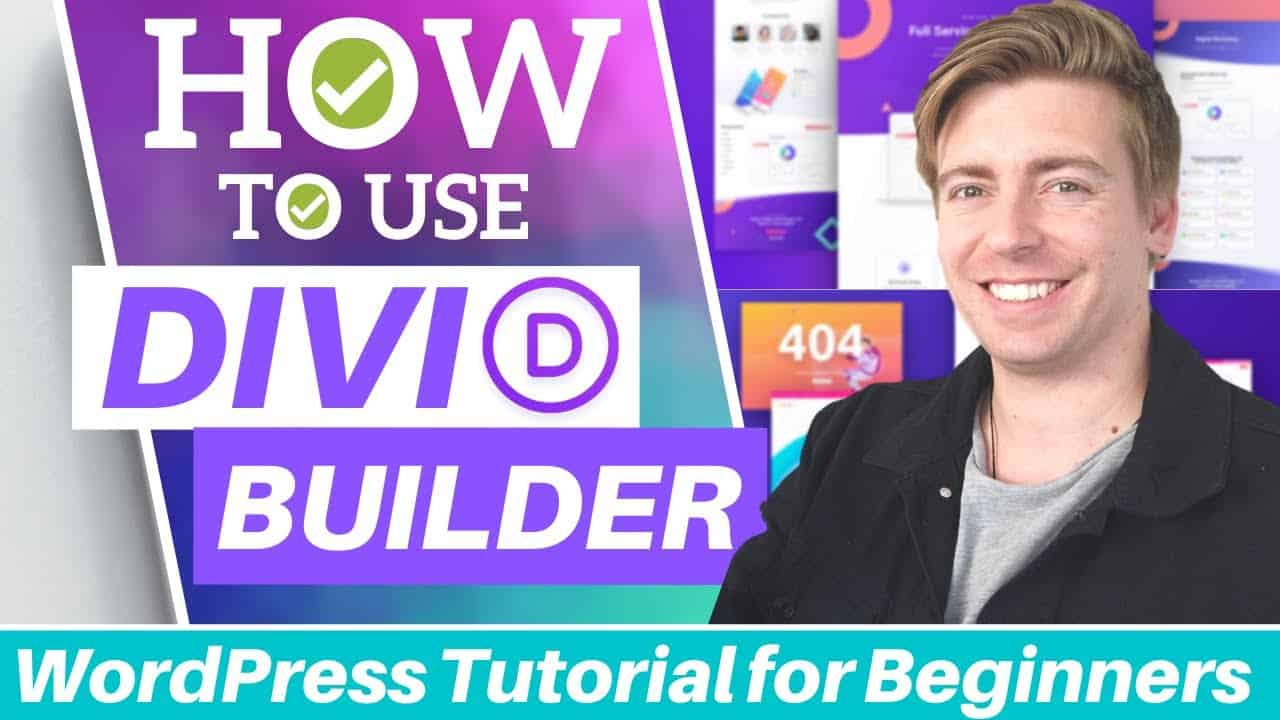 How to use Divi Builder in Wordpress | Divi Theme Tutorial for Beginners