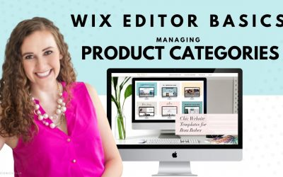 Do It Yourself – Tutorials – Managing Product Categories in Your WIX Store | WIX Website Tutorials | Design Your Own Online Shop