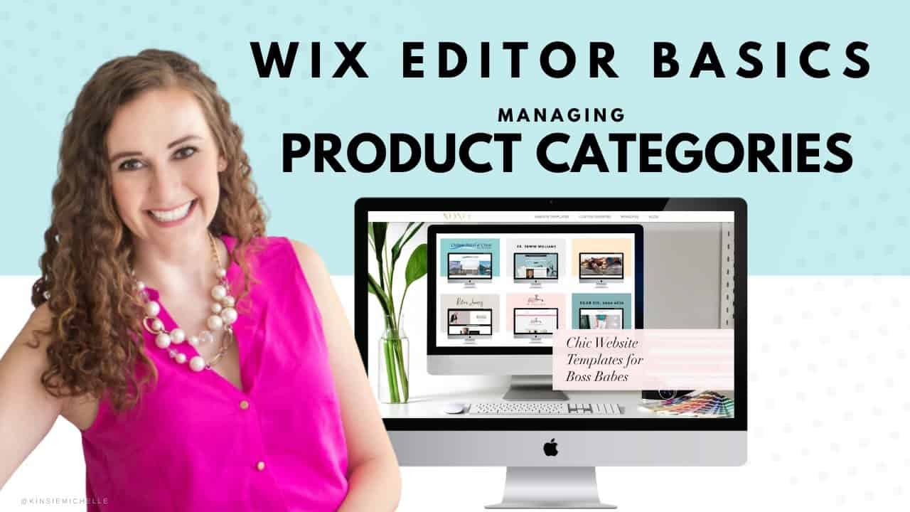Managing Product Categories in Your WIX Store | WIX Website Tutorials | Design Your Own Online Shop