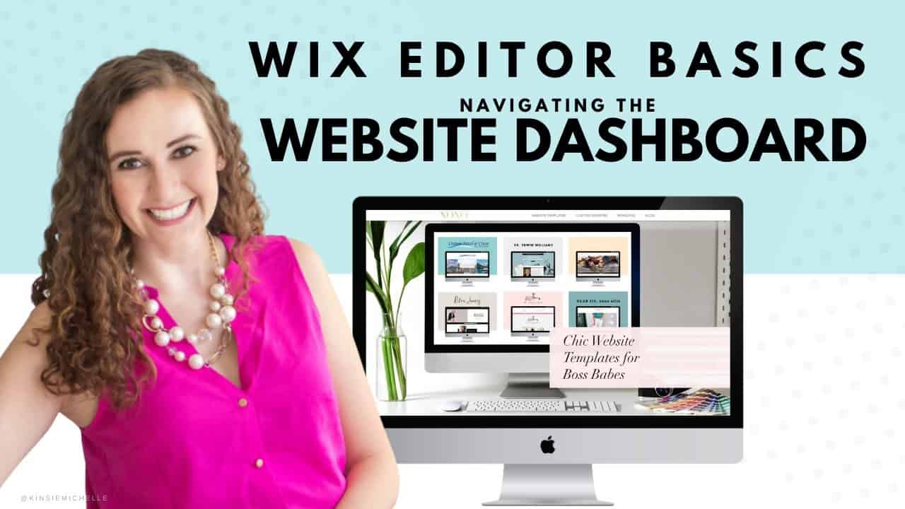 Navigating Your Website's Dashboard | WIX Website Tutorial | Create Your Own Website