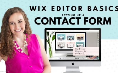 Do It Yourself – Tutorials – Setting Up a Contact Form in WIX | Wix Website Editor | How to Design Your Own Website