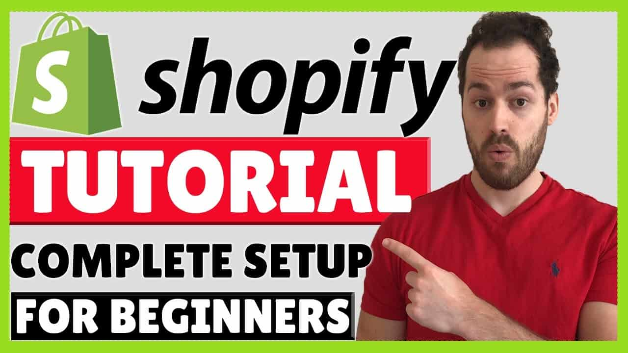 Shopify Tutorial For Beginners 2020 - Shopify Website Design Step By Step