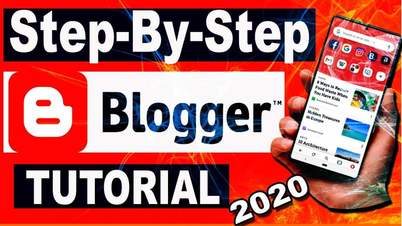 Step-By-Step Blogger Tutorial for Beginners -(2020)! How to create free website with free Domain.