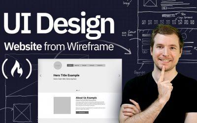 Do It Yourself – Tutorials – UI Design Tutorial – Website From Wireframe